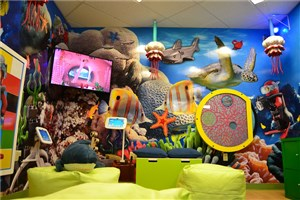 'A NEW Merlin's Magic Spaces project has launched in Children's Mercy Centre! – What an amazing transformation!' accompanying image 1