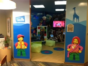 'A NEW Merlin's Magic Spaces project has launched in Children's Mercy Centre! – What an amazing transformation!' accompanying image 2