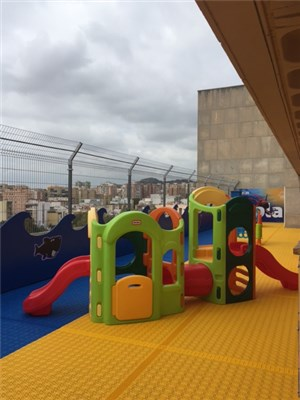 'A NEW Merlin's Magic Spaces project has launched in Malaga! From uninspiring to fully themed, functional, fun outside space.' accompanying image 2