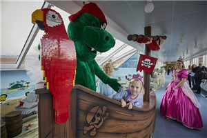 'Merlin's Magic Wand has teamed up with LEGOLAND® Billund to create some NEW magical play spaces for the Aarhus hospital in Denmark.' accompanying image 1
