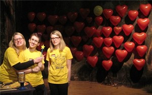 'Love is in the air at Madame Tussauds Berlin!' accompanying image 1