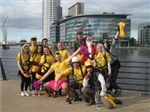'30 team members from LEGOLAND Discovery Centre Manchester brave the cold!' accompanying image 1