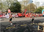 'Marie Atkins takes part in London marathon' accompanying image 1